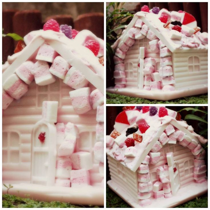 Sweet Soap by AST PRODUCTS. Sweet Soap houses with soap marsmallows and candies!!!! www.astproducts.gr