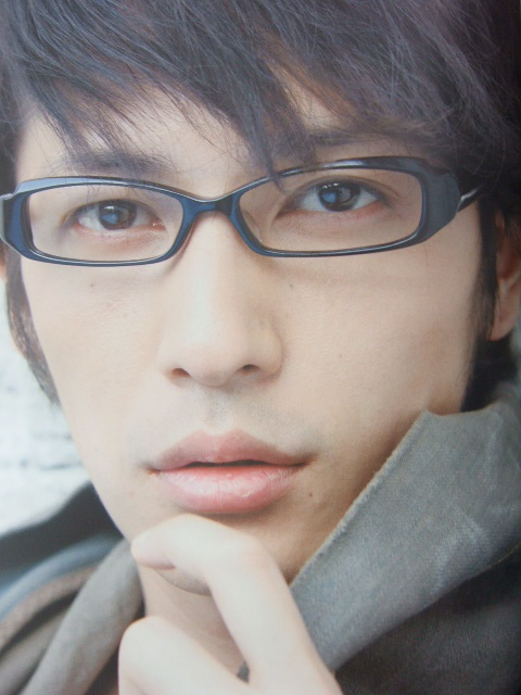 Hiroshi Tamaki with megane