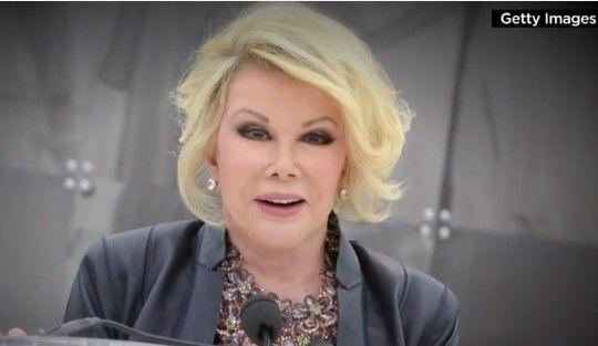 Joan Rivers' Chilling Joke About Death (VIDEO)