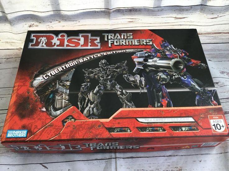 Risk Transformers Cybertron Battle Edition 2007 Complete