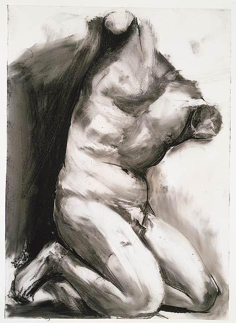 The Morgan Library & Museum Online Exhibitions - Jim Dine: The Glyptotek Drawings Online Exhibition - Glyptotek Drawing 26