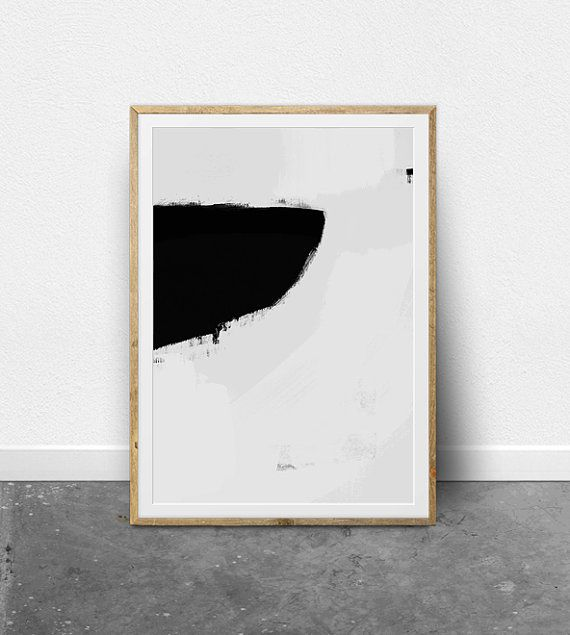 Minimalist painting abstract wall art printable wall art for Modern minimalist wall art