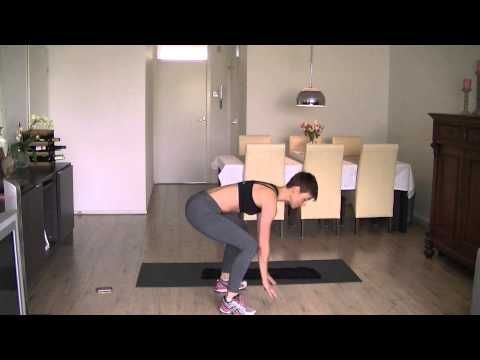 Hoe krijg ik een strakke buik, benen en billen? 9 minuten workout