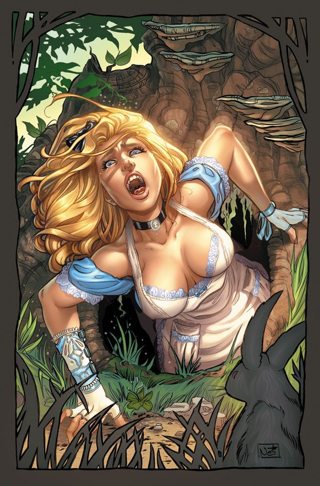 "Sexy Dark Alice In Wonderland | Zenescope Announces New ""Alice In Wonderland"" Series"