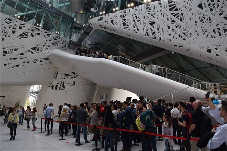 Павильон Италии на Всемирной выставке Экспо Милан 2015