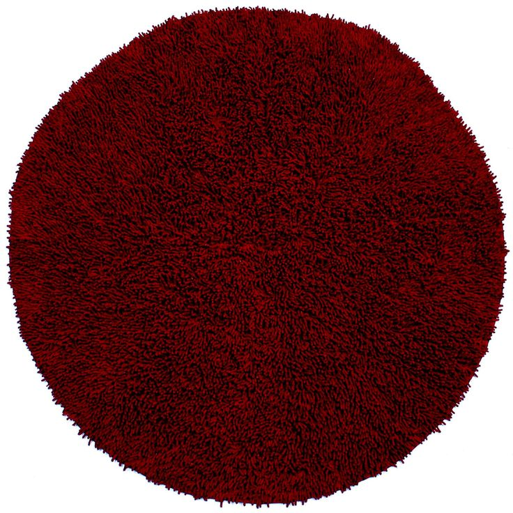 Shagadelic Burgundy Rug