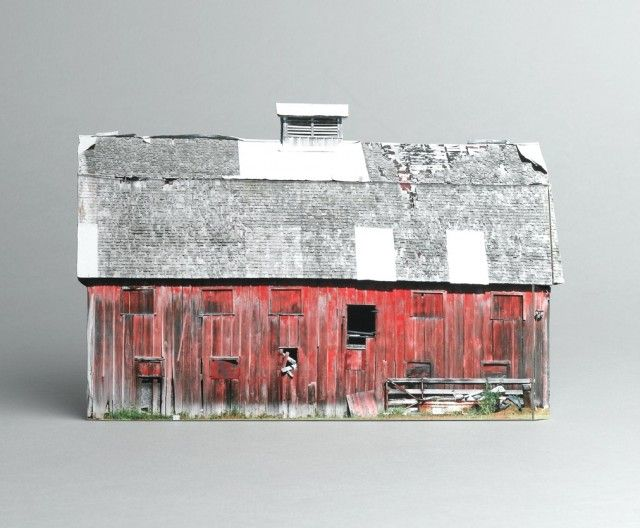 Broken Houses, Scale Models of Decaying Buildings by Ofra Lapid