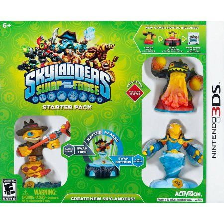 Skylanders Swap Force Starter Pack (Nintendo 3DS), Multicolor