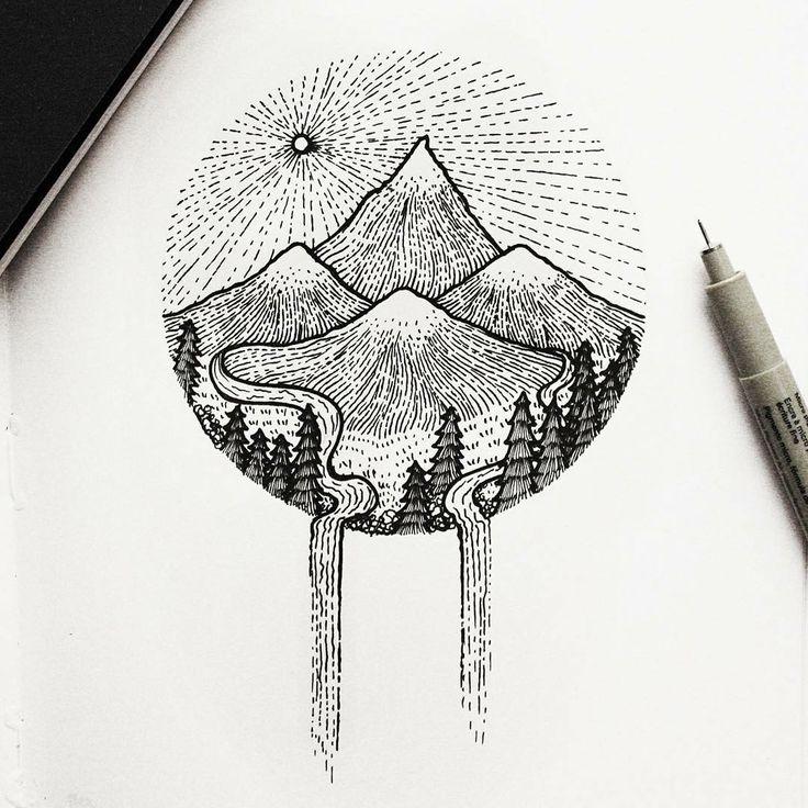 Line Art Nature : Best images about art ideas on pinterest hotel