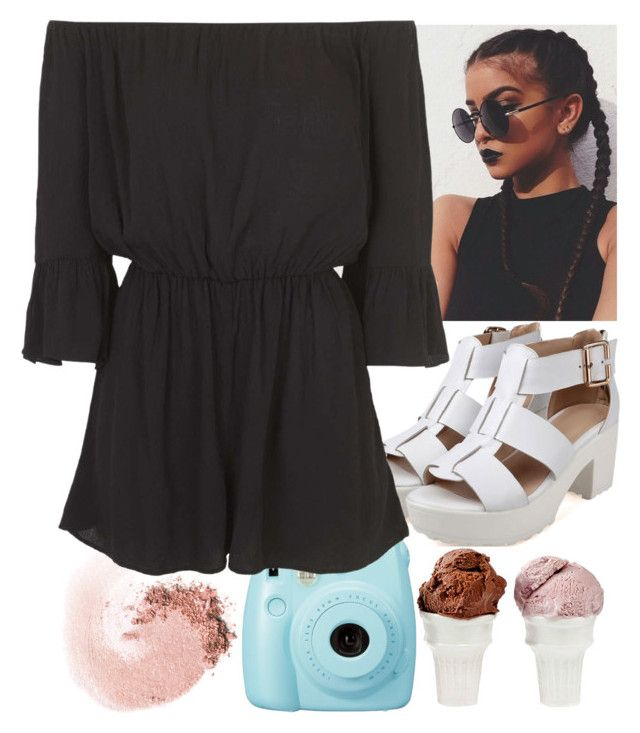"""""""100 day challenge// Indian color festival"""" by dream-your-day-xo ❤ liked on Polyvore featuring NARS Cosmetics, Topshop, Sin and FashionYoni"""