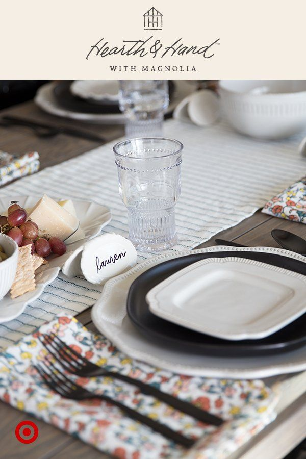 Name cards are an easy, affordable way to elevate your table and make guests feel welcome.