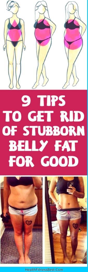 9 Tips To Get Rid Of Stubborn Belly Fat For Good #belly #fat #burn #tips #fitness #health