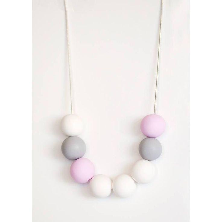 $36 Softly Softly Bubble Necklace by Ashloc Designs on Handmade Australia www.hand-made.com.au/ashlocdesigns