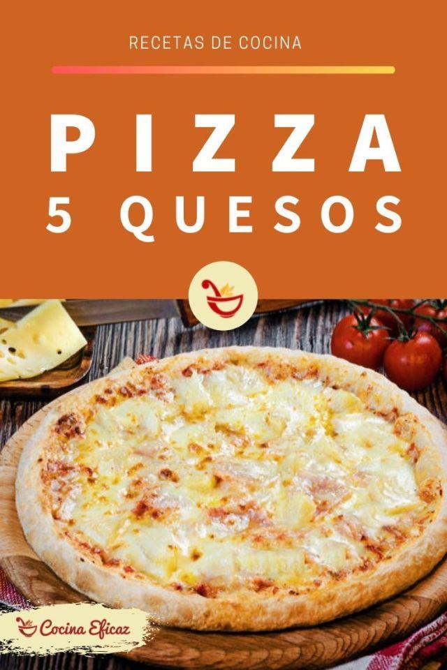 Los Amantes Del Queso Disfrutaran De Esta Pizza De Queso Gruyere