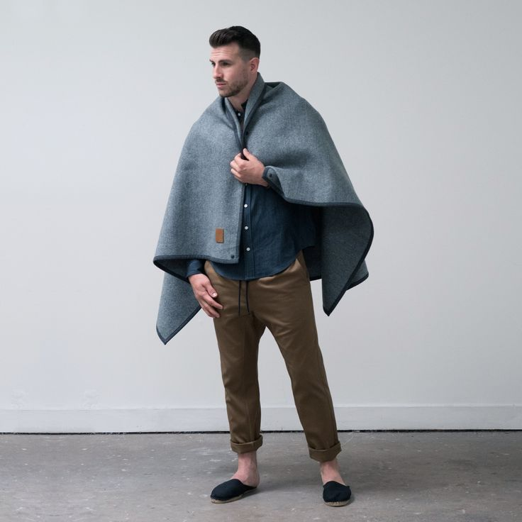 The Utility Poncho revisits a classic Australian design, Old Bluey, the original picnic blanket designed ...