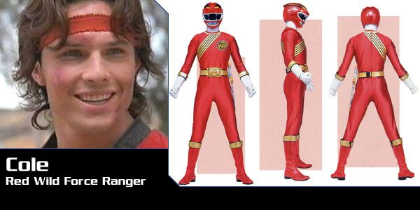 Cole Evans (Red Lion Wild Force Ranger) - Power Rangers Wild Force | Power Rangers Central (Power Rangers Central, 03/16)