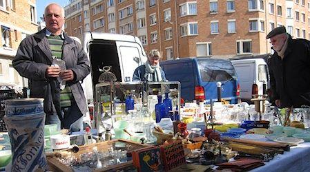 Porte de Vanves flea market 7am to 1pm, Sat and Sun