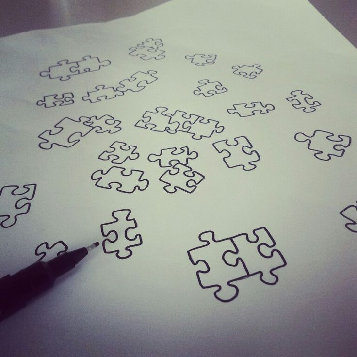 Puzzle pieces...