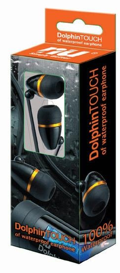 The swimmer earphones are the perfect compliment to your DOLPHIN MP3 player! These are specially engineered waterproof membrane that projects the earphone from water while providing crisp