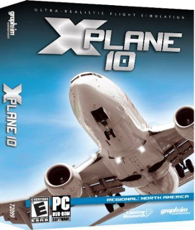 http://softwarebastion.com/childrens-software/xplane-10-regional-north-america-com/  X-Plane 10 Regional: North America is the most comprehensive and powerful flight simulator available for the personal computer. X-Plane 10 simulates anything that flies