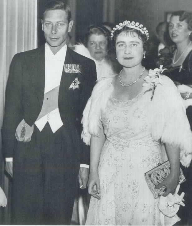 Young Queen Elizabeth Mother Queen Elizabeth...