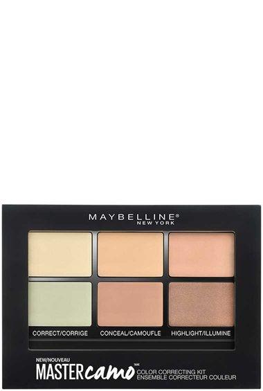 Master Camo™ Ensemble Correcteur Couleur par Maybelline. Corrige le teint de la peau, camoufle les cernes et les imperfections, et illumine les traits du visage.