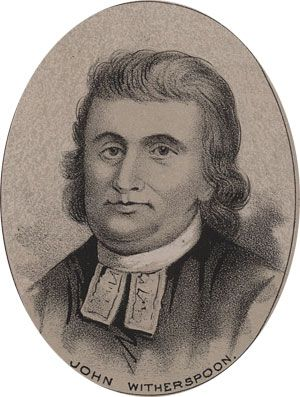 John Knox Witherspoon was a Scottish-born clergyman, who signed the Declaration of Independence. In fact, he was the only clergyman to do so. He was born 5 February 1722 or 1723 (depending on wheth...