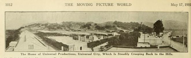 Universal Observes Anniversary  - Universal City -  Moving Picture World (May 1919) - Carl Laemmle -