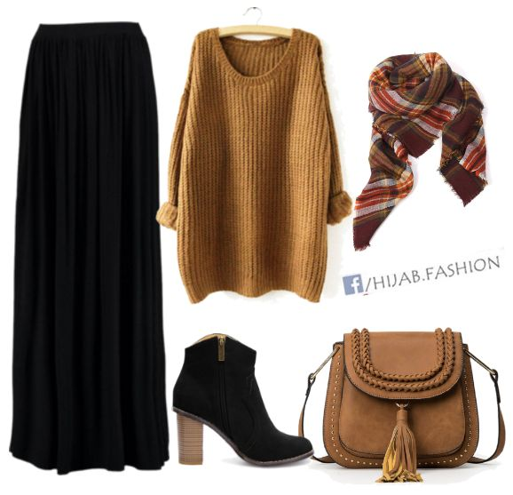 Sweaters & Skirts - Fall Outfit Idea