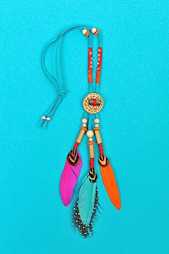 Indian necklace (tuto)