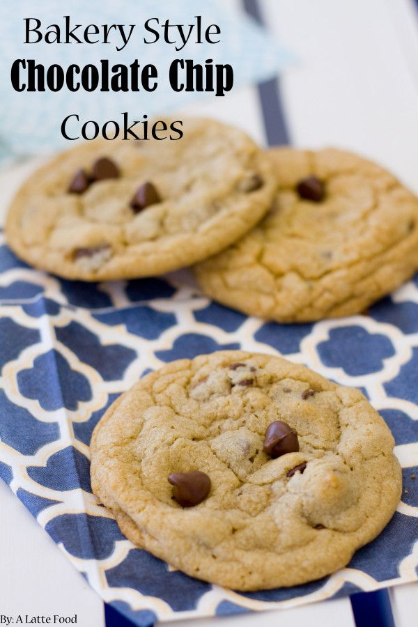 Bakery Style XXL Chocolate Chip Cookies Recipe — Dishmaps