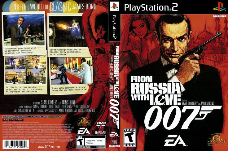 007 From Russia With Love Cover Jpg 3204 2132 James Bond 007