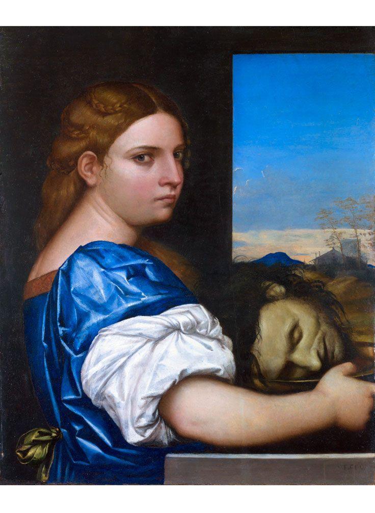 Cesare da Sesto • Salome, probably about 1510-20