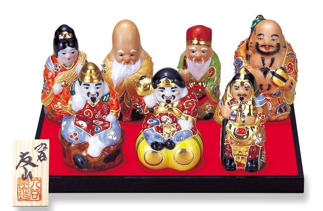 Engimono, los amuletos japoneses  shichifukujin,