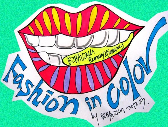 Talk! Talk! Fashion in color. BIBAVIMH