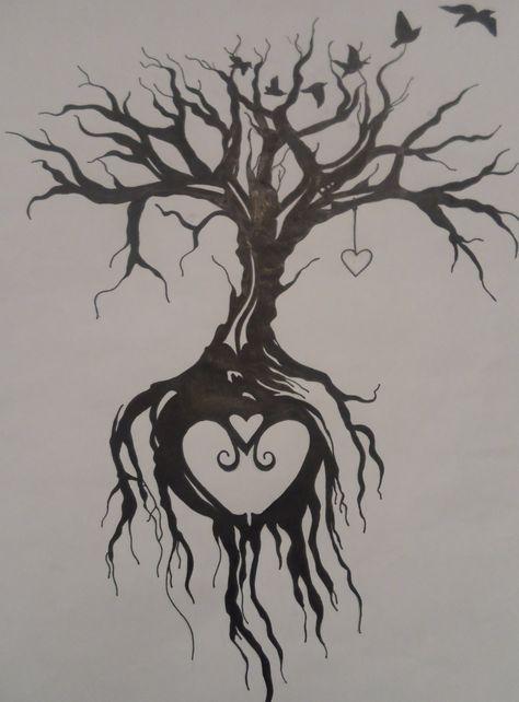 Tree of life tattoo by EmmyBunny.deviantart.com on @DeviantArt