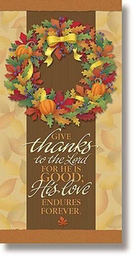 Thanksgiving Church Banner Church Decorations