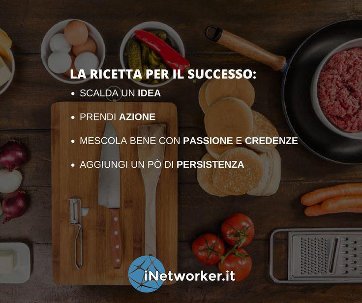 🍴 Ecco la ricetta per il successo. Metti un ❤️ se condividi.