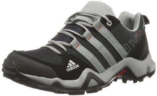adidas AX 2.0, Unisex-Kinder Trekking- & Wanderhalbschuhe, Schwarz (Black 1/Chalk 2/Light Scarlet), 33 EU - http://on-line-kaufen.de/adidas/33-eu-adidas-ax2-unisex-kinder-trekking