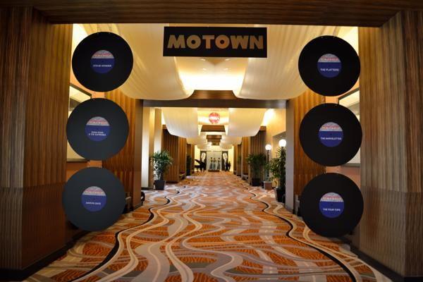 Motown Vinyl Record Decor