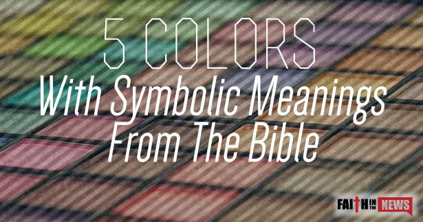 1,30733What do certain colors have in symbolic meaning in the Bible? Red: the Blood of the Lamb The absolute gospel is seen throughout the Bible in the color of red because of the Lamb of God's blood shed for sinner. Red is the scarlet thread that is interwoven throughout the Bible, from Genesis to Revelation.  Rahab ...