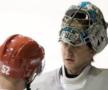Свитер хоккейный сан хосе с фамилией набокова