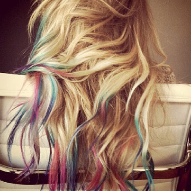Colored Blonde Hair 70