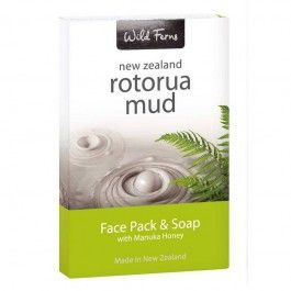 Share now and save Wild Ferns Rotorua Mud Gift Pack with Face Pack and Soap