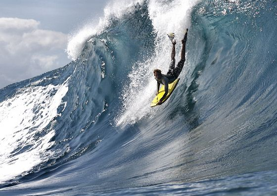 The best bodyboarding wedges and slabs in the world
