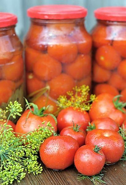 Rajčata ve sladkokyselém nálevu