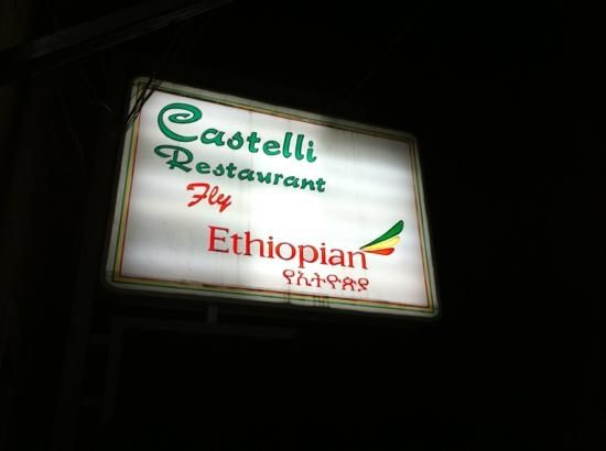 The best Italian restaurant in the world --- in #Ethiopia