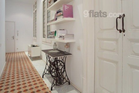 dUn appartement girly à louer à Barcelone