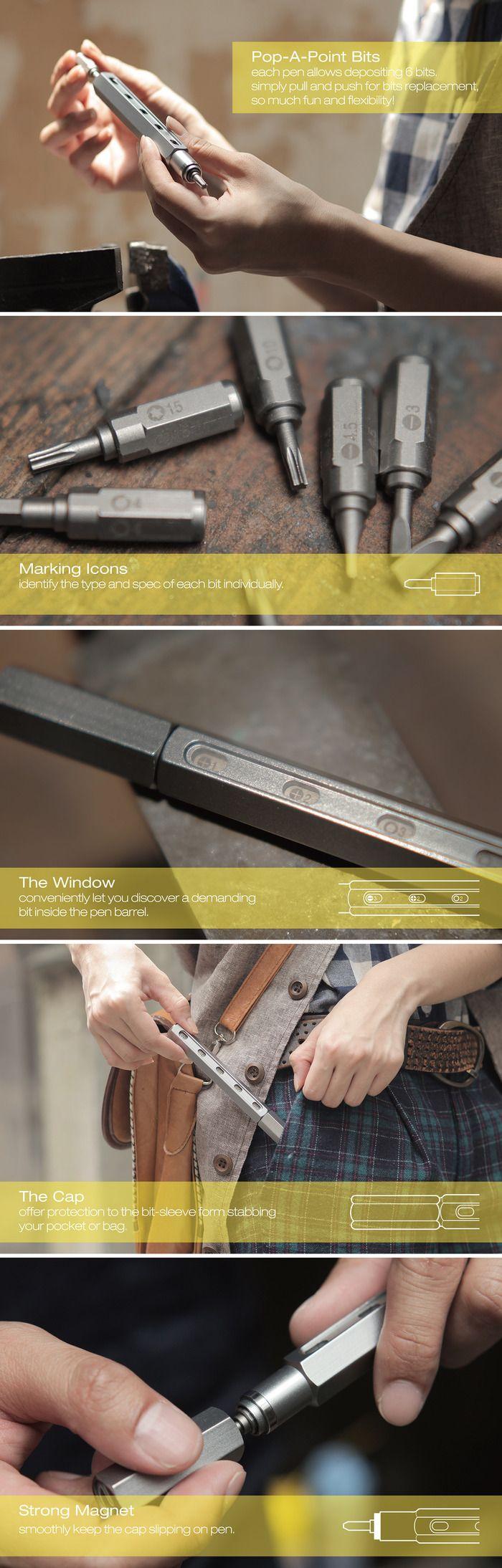 Tool Pen - Makes Everything Beautiful by mininch — Kickstarter
