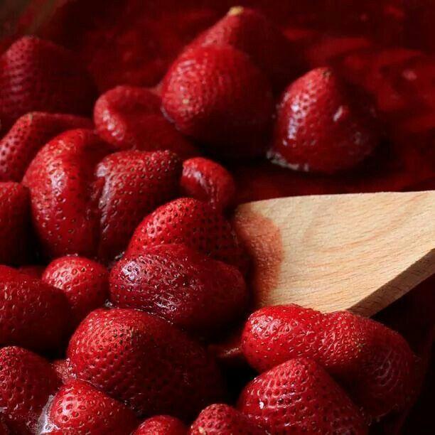 Roasted strawberries | STRAWBERRY | Pinterest
